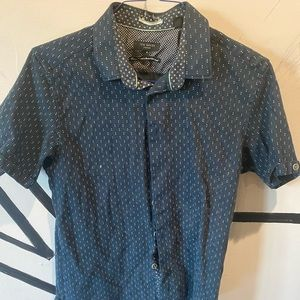 Ted Baker London Men's Short Sleeve Button Up